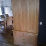 Eiken kast Tempel meubelen Midden Drenthe
