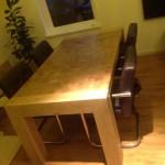 Kopse tafel Meubelmakerij Tempel Drenthe