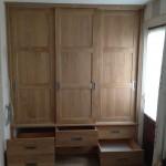 Ingebouwde kledingkast meubelmakerij Drenthe Tempel